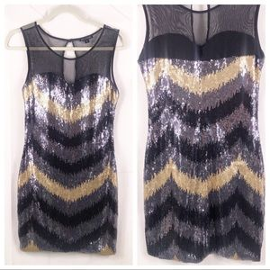 As u wish sequins dress, size small, cocktail dres